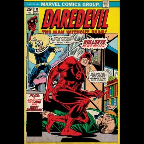 Daredevil (Retro Marvel) Poster