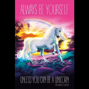 Unicorn (Always Be Yourself)  Poster