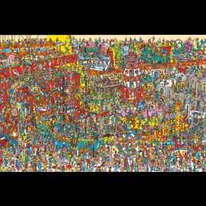 Where's Wally (Toys) Poster