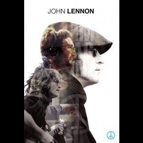 John Lennon (Double Exposure) Poster