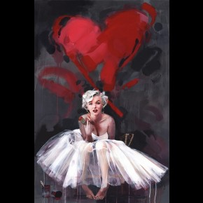 Marilyn Monroe (James Paterson) Poster