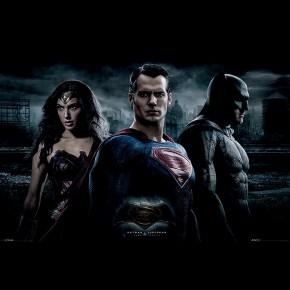 Batman v Superman (Trio) Poster
