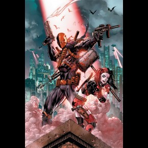 DC Comics Suicide Squad (Deathstroke and Harley Quinn) Poster