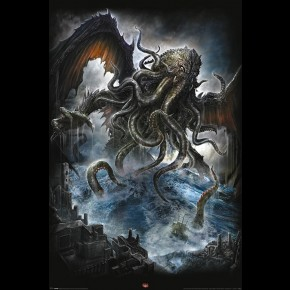 Cthulhu Poster By Spiral Design