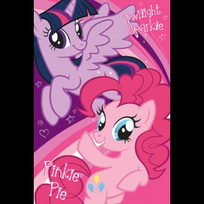 My Little Pony (Twilight and Pinkie) Poster