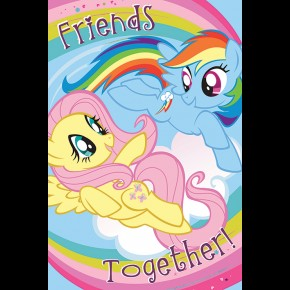 My Little Pony (Friends Together) Poster