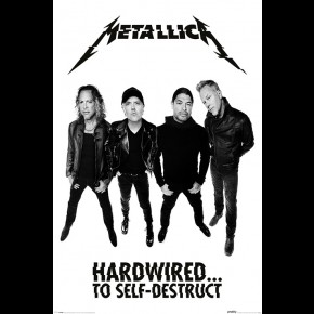 Metallica (Hardwired Band) Poster