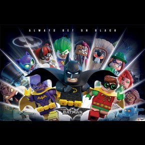 Lego Batman (Bet On Black) Poster