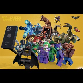 Lego Batman (Best Selfie Ever) Poster