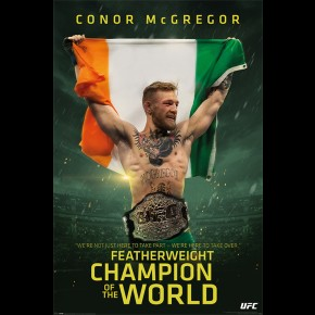 Conor McGregor (Champion) Poster