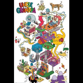 Uncle Grandpa (Warped Mind) Poster