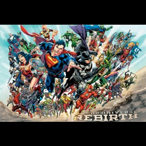 Justice League (Rebirth) Poster