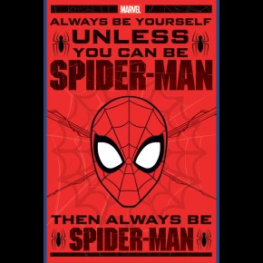 Spiderman (Be Yourself) Poster