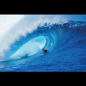 Riding The Wave Poster