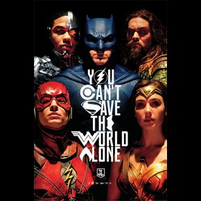 Justice League (Save The World) Poster