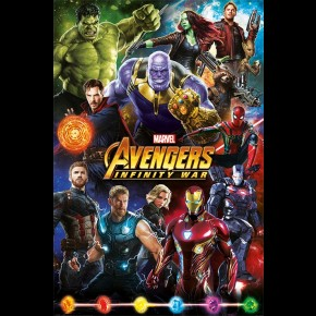 Avengers Infinity War (Characters) Poster