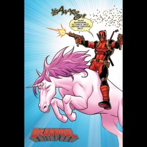 Marvel Deadpool (Unicorn) Poster