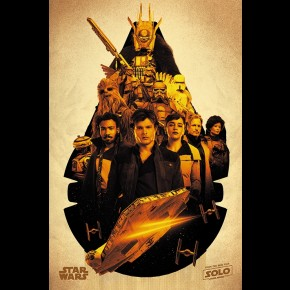 Solo: A Star Wars Story Poster (Millennium Falcon Montage)