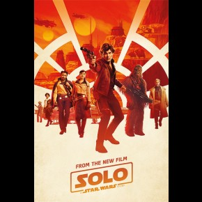 Solo: A Star Wars Story Poster (Millennium Teaser)