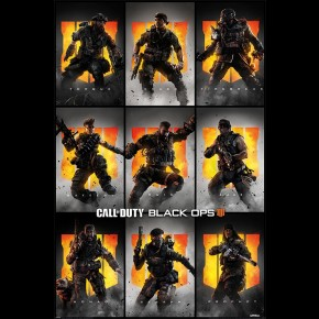 Call Of Duty Black Ops 4 (Characters) Poster