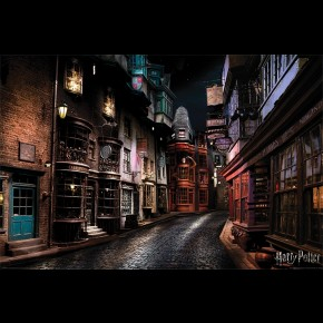 Harry Potter (Diagon Alley) Poster
