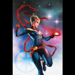 Captain Marvel (Galaxy) Poster