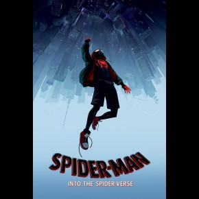 Spiderman Spider-Verse (Fall) Poster