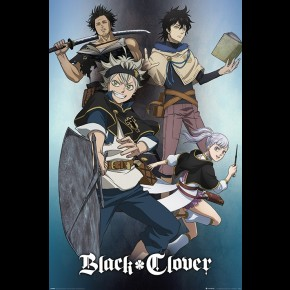Black Clover (Magic) Poster