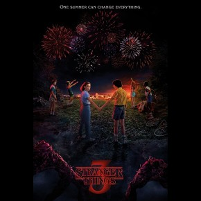 Stranger Things (One Summer Season 3) Poster