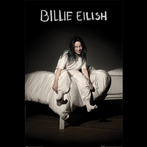 Billie Eilish (When We All Fall Asleep) Poster