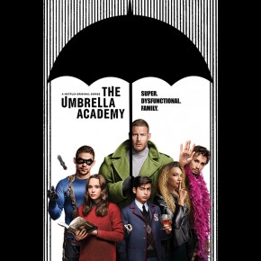 Umbrella Academy (Super Dysfunctional Family) Poster