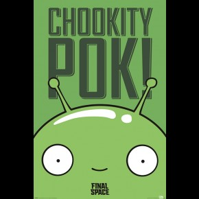Final Space (Mooncake - Chookity Pok) Poster