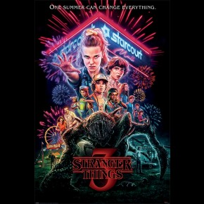 Stranger Things (Summer Of 85) Poster