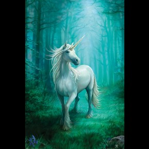 Anne Stokes Forest Unicorn Poster