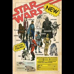 Star Wars (Action Figures) Poster