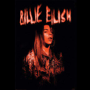 Billie Eilish (Sparks) Poster