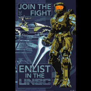Halo Infinite (Join the Fight) Poster
