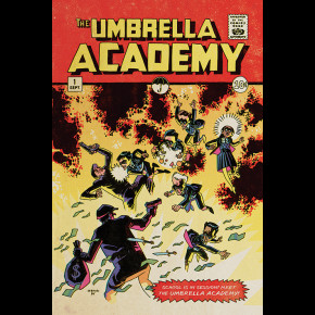 Umbrella Academy (School Is In Session) Poster