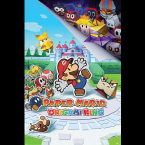 Paper Mario (Origami King) Poster