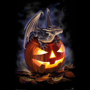 Anne Stokes (Trick Or Treat) Poster