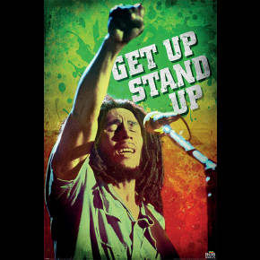 Bob Marley (Get Up Stand Up) Poster