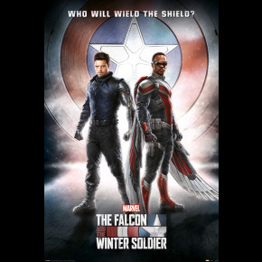 Falcon and Winter Soldier (Wield The Shield) Poster