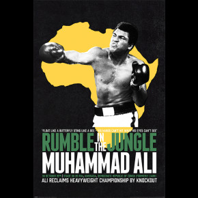 Muhammad Ali (Rumble In The Jungle) Poster