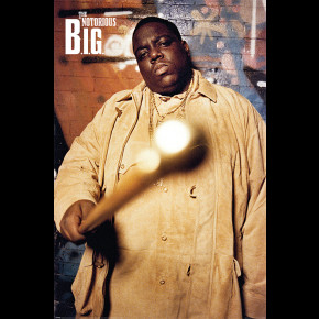 Notorious BIG (Cane) Poster