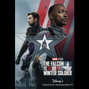 Falcon and Winter Soldier (Stars and Stripes) Poster