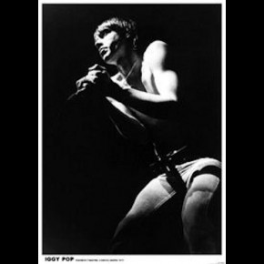 Iggy Pop Rainbow Poster