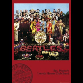 Beatles Sgt Pepper Poster