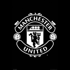 Man United (Badge) Poster