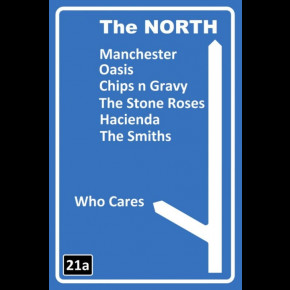 Manchester The North Poster