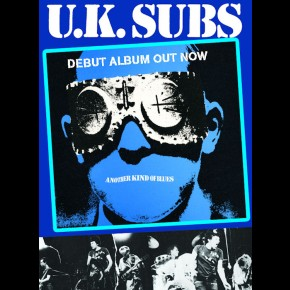 UK Subs Another Kind Of Blues Poster